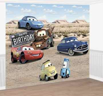 Disney Cars Birthday Party Decoration Ideas Kids Party Supplies