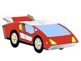 color your 3D car