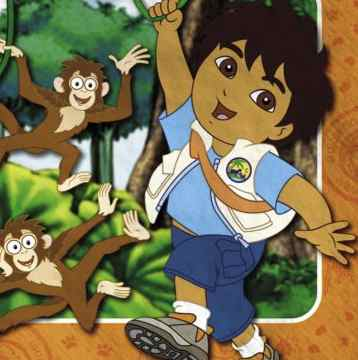 Go Diego Go Birthday Party Supplies And Ideas  Kids Party
