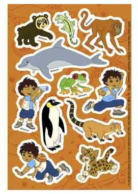 Diego Stickers