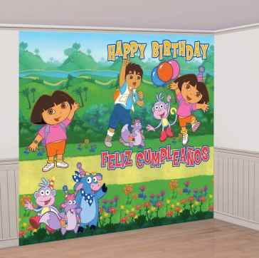 Dora Birthday Party Decoration