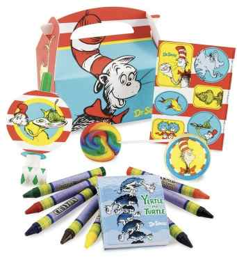 Dr. Seuss Party Favors