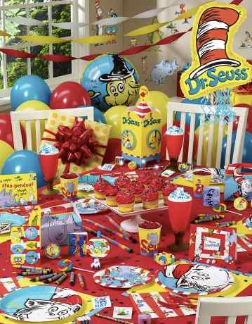Ultimate Party Pack & Dr. Seuss Birthday Party Food and Snack Ideas : Kids Party Supplies ...