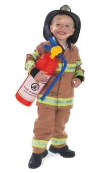 firetruck fire man costume child