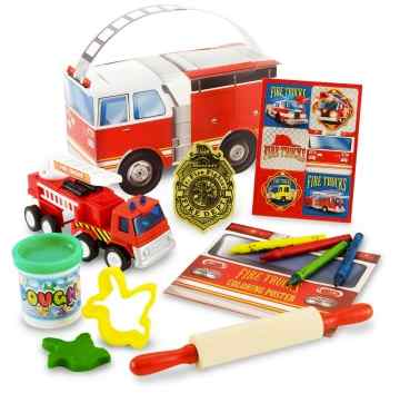 Fire Truck Birthday Party Favors