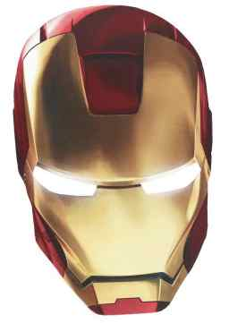 Iron Man Mask Template | Iron Man Birthday Party Invites Kids Party Supplies And Ideas