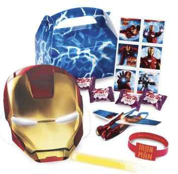 ironman party favors