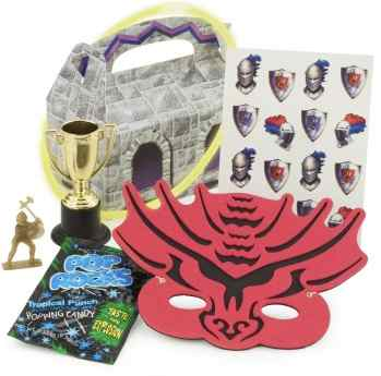 knight dragon party favors