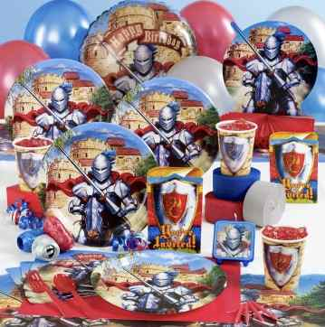 Medieval Knight party supplies