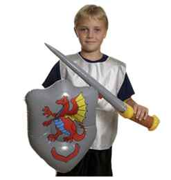 Knight Sword & Shield Set