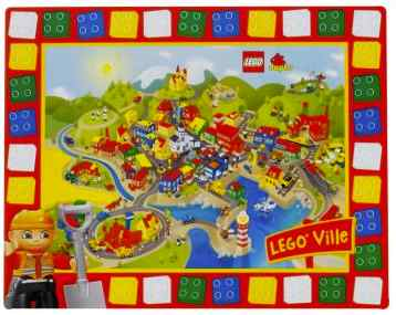 lego party activity placemat