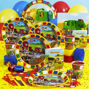 Lego Party Supplies and Ideas : Kids Party Supplies and Ideas ...