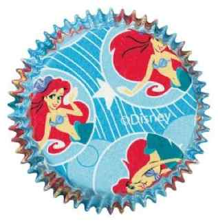 Little Mermaid Cupcake Tins