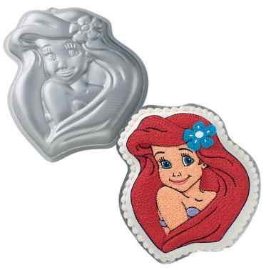 little mermaid cake pan wilton