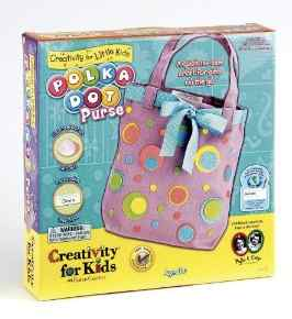 polka dot purse kit