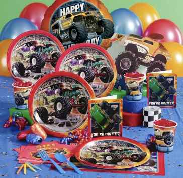 Monster Jam Truck party supplies