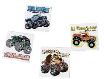 Monster Truck Tattoos