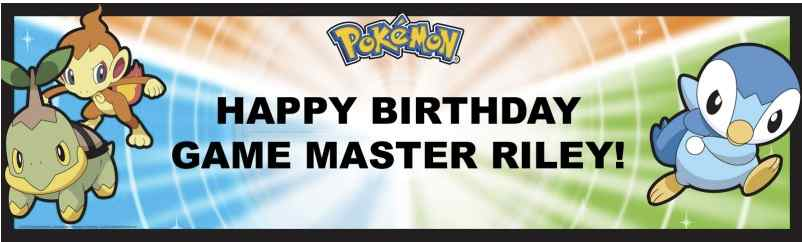 pokemon party banner