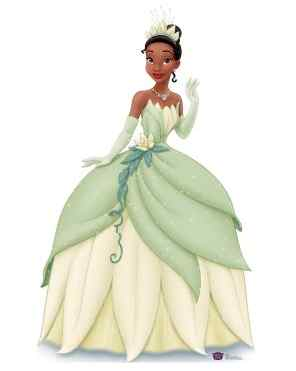 princess and the frog cardboard standup