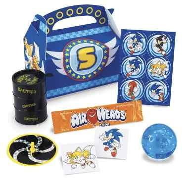 Sonic the Hedgehog Party Favors