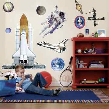 space wall decorations