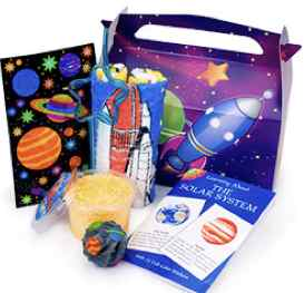 Space Birthday Party Favors