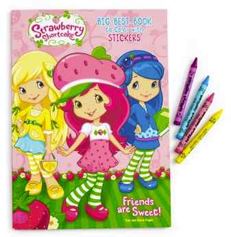 Strawberry Shortcake Coloring Book