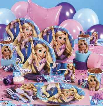 Tangled Rapunzel party supplies