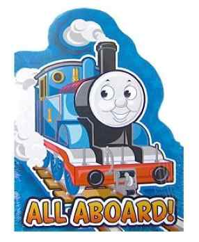 Thomas the Tank Engine Train Party Invitations