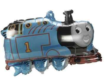 thomas the tank engine train mylar balloons  sc 1 st  Kids Party Supplies & Thomas the Tank Engine Birthday Party Decorations : Kids Party ...