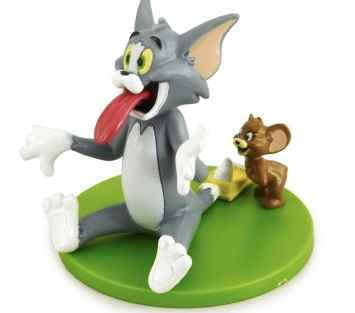 Tom and Jerry Birthday Cake