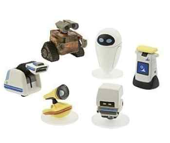 Wall-E Collector Pieces