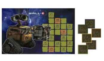 Wall E Party Games