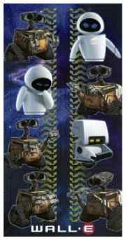 Wall-E Stickers
