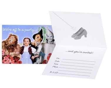 Wizard of Oz Party Invitations