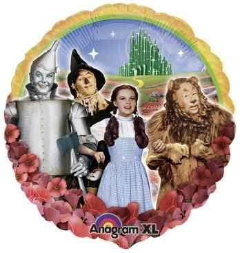 Wizard of Oz Mylar Foil Balloon